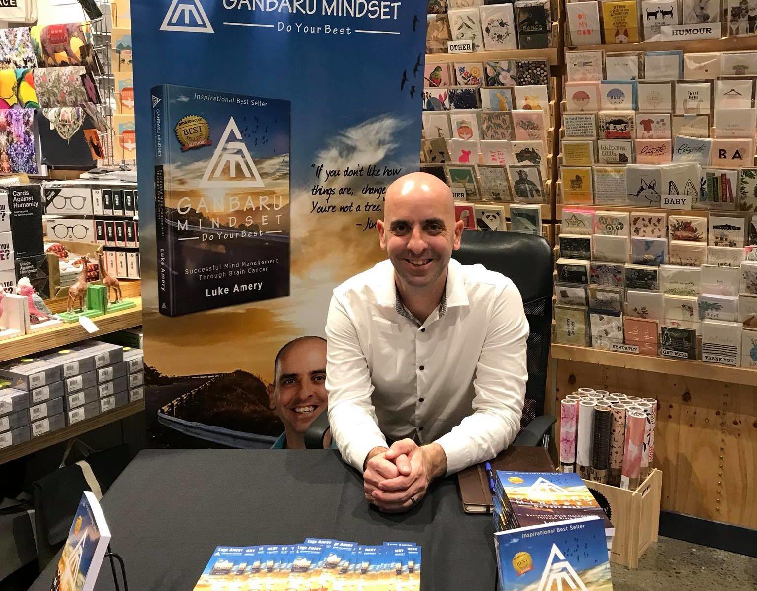 "Luke Amery, Author ""Ganbaru Mindset"""
